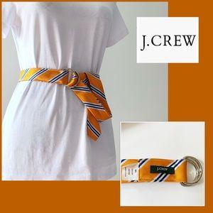 J Crew 100% Silk Belt